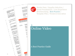 Cover for Online Video Best Practice Guide