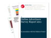 Cover for Online Advertising Survey