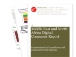 Cover for Middle East and North Africa Digital Consumer Report