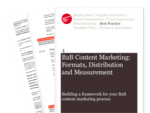 Cover for B2B Content Marketing Best Practice Guide