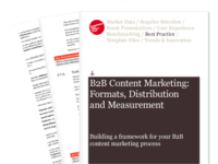 B2B Content Marketing Best Practice Guide