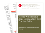 Cover for Mobile Websites and Apps Optimization Best Practice Guide