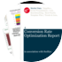 Cover for Conversion Rate Optimization Report