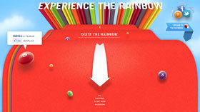 The Skittles user experience
