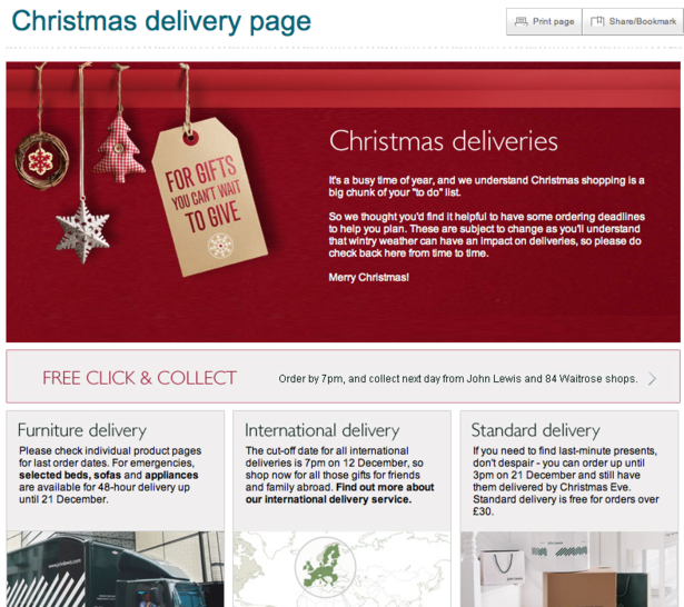 Christmas Shoppers Don T Trust Etailers To Deliver On Time