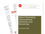 Cover for Digital Marketing: Organisational Structures and Resourcing Best Practice Guide