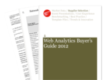 Cover for Web Analytics Buyer's Guide 2012
