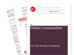 Cover for Online Communities Part One: Starting a Community