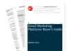 Cover for Email Marketing Platforms Buyer's Guide 2012