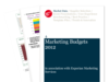 Cover for Marketing Budgets 2012