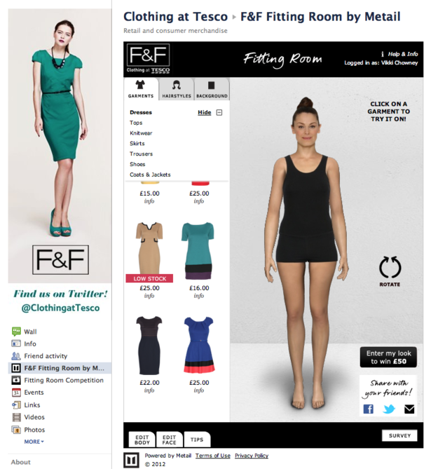 Image result for virtual fitting room