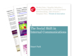 Cover for Smart Pack: The Social Shift in Internal Communications
