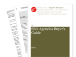 Cover for SEO Agencies Buyer's Guide 2012