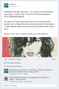 Jetsetter and Norah Jones: an opportunity missed – Econsultancy