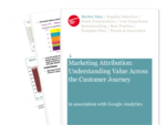 Cover for Marketing Attribution: Valuing the Customer Journey