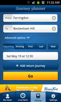 National Rail Enquiries journey planner: app review - Econsultancy