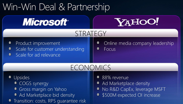microsoft yahoo merger