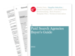 Cover for Paid Search Agencies Buyer's Guide