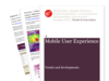 Cover for Mobile User Experience Trends Briefing