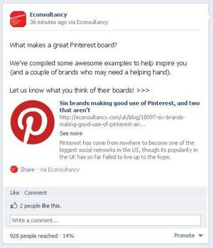 facebook post reach after 30 mins. blog half Facebook Timeline thay đổi hành vi của fan?