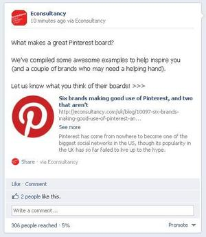 facebook post reach after 10 minutes. blog half Facebook Timeline thay đổi hành vi của fan?