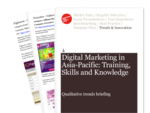 Cover for Digital Marketing in Asia-Pacific: Training, Skills and Knowledge