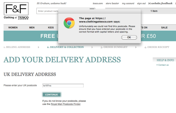 Is postcode entry making your customers abandon the checkout