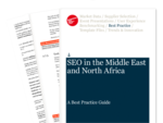 Cover for SEO in the Middle East and North Africa Best Practice Guide