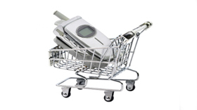 telecom shopping cart