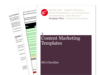 Cover for Content Marketing Calendar - Digital Marketing Templates