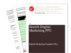 Cover for Search Engine Marketing: PPC Reporting - Digital Marketing Template Files