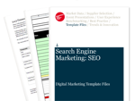 Cover for RFP Checklist - Digital Marketing Template Files