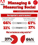 Cover for Infographic: Managing & Measuring Social - A Guide to Enterprise Usage