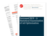 Cover for Increased ROI - A Statistical Examination of Ad Optimization