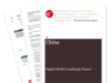 Cover for China: Digital Market Landscape Report