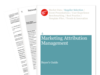 Cover for Marketing Attribution Management Buyer's Guide 2013