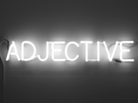 Content marketing adjectives