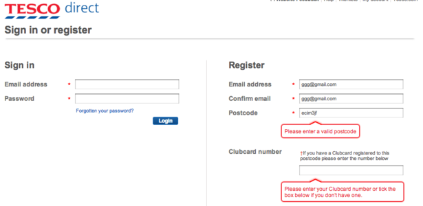 Are online retailers being tripped up by postcode entry? – Econsultancy