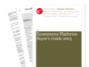 Cover for Ecommerce Platforms Buyer's Guide 2013