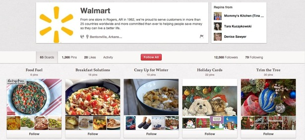 In September Walmart Launched Its First Competition On Pinterest Offering Users The Chance To Win A  Gift Card By Sharing Images Of Products That Help