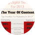 Cover for Infographic: Key Digital Trends for 2013