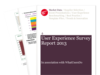 Cover for User Experience Survey Report