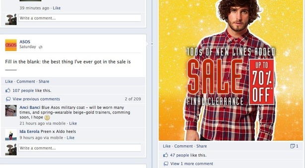 How ASOS uses Facebook, Twitter, Pinterest and Google+