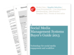 Cover for Social Media Management Systems Buyer's Guide