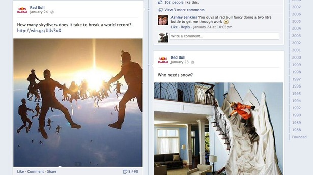 How Red Bull uses Facebook, Twitter, Pinterest and Google+