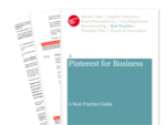 Cover for Pinterest for Business: A Best Practice Guide