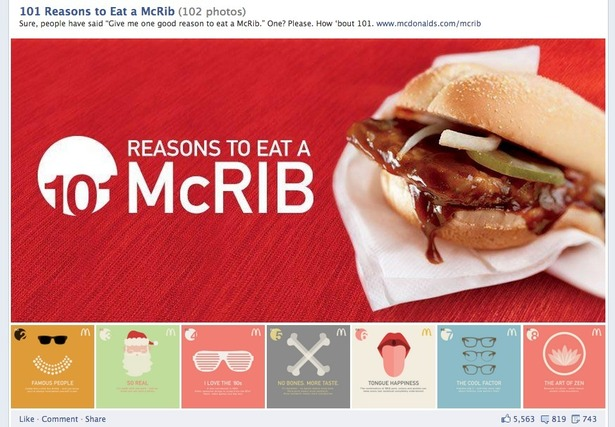 How McDonald's uses Facebook, Twitter, Pinterest and Google+