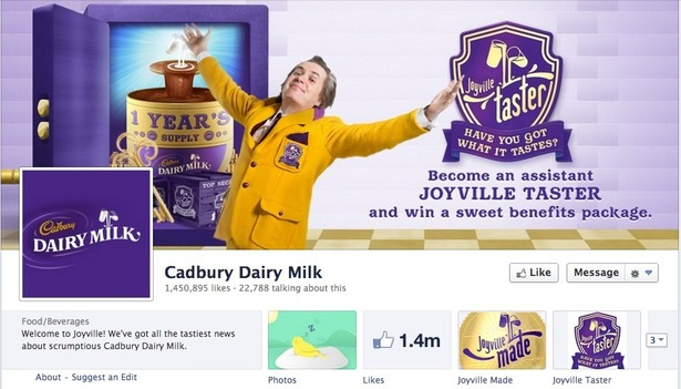 How Cadbury uses Facebook, Twitter, Pinterest and Google+