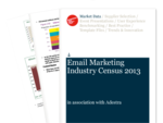 Cover for Email Marketing Industry Census 2013