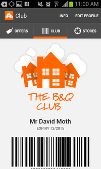 B&Q's Club app is the perfect mobile loyalty scheme